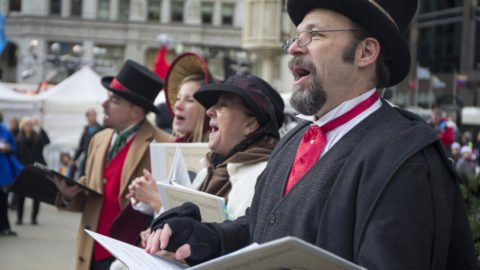 The Caroling Connection as seen in the Chicago Tribune Dickensian Carolers make Holiday memories