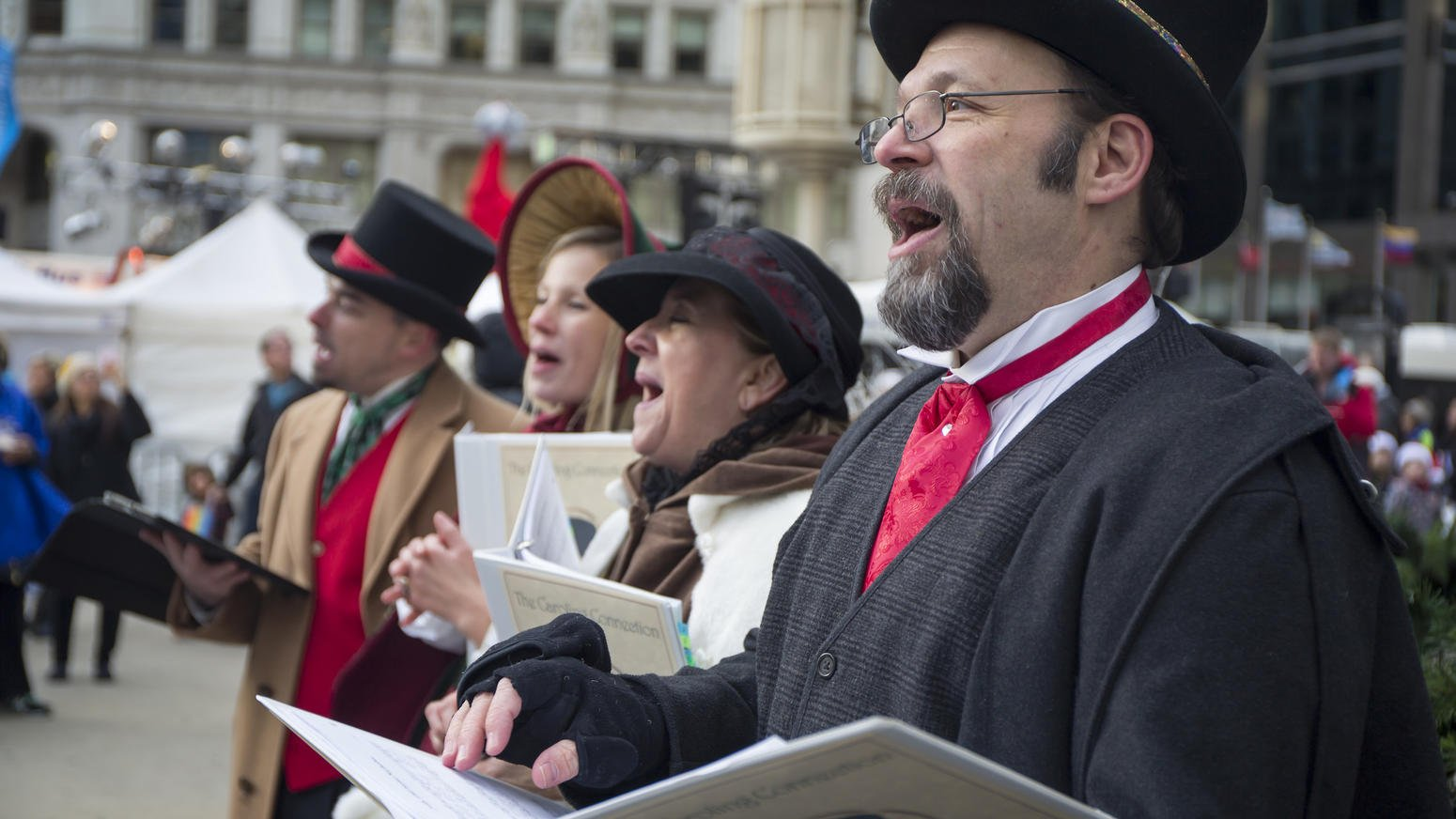 The Caroling Connection as seen in the Chicago Tribune