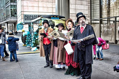 The Caroling Connection at the 25th BMO Magnificent Mile Festival of Lights